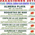 Circuitos de vacaciones – Primavera y verano 2019 (I)