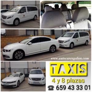 Taxis en Peñaranda de Bracamonte – 4 y 8 plazas